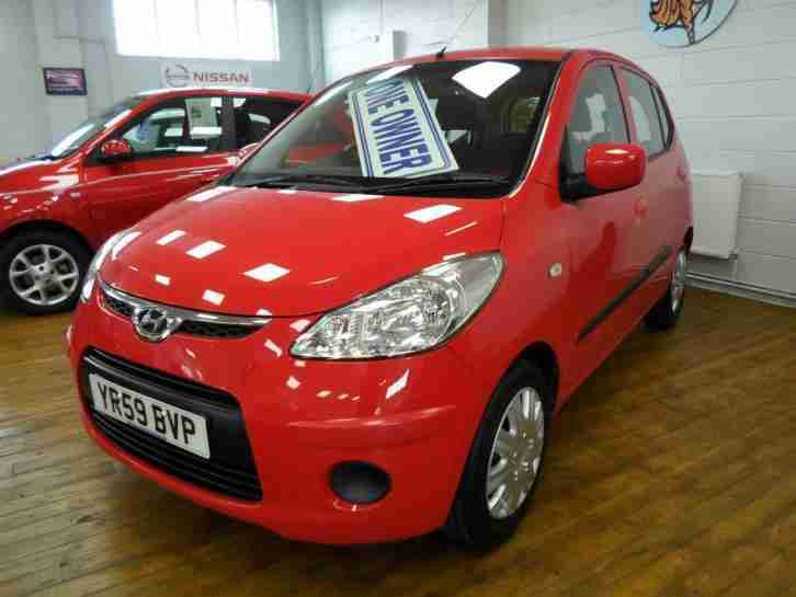 2009 Hyundai i10 1.1 ES 5dr *1 OWNER £30 TAX* 5 door Hatchback