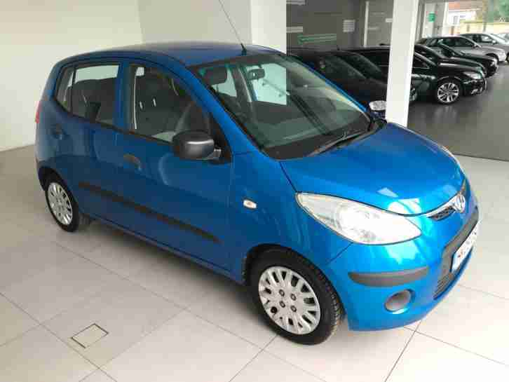 2009 Hyundai i10 1.2 ( 76bhp ) Classic 3 F Keepers 2 Keys 3 Service Stamps