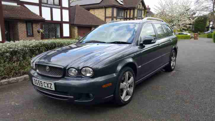 Jaguar X. Jaguar car from United Kingdom