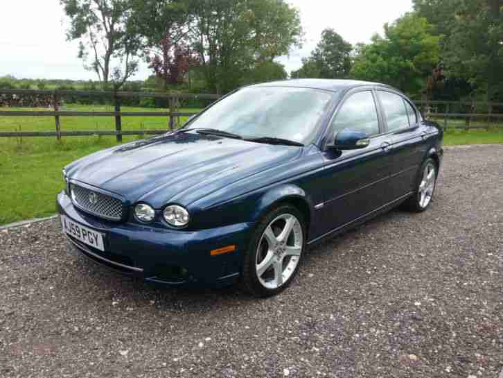 Jaguar 2009 X TYPE SPORT PREMIUM 44900 MILES 2.2 DIESEL ...