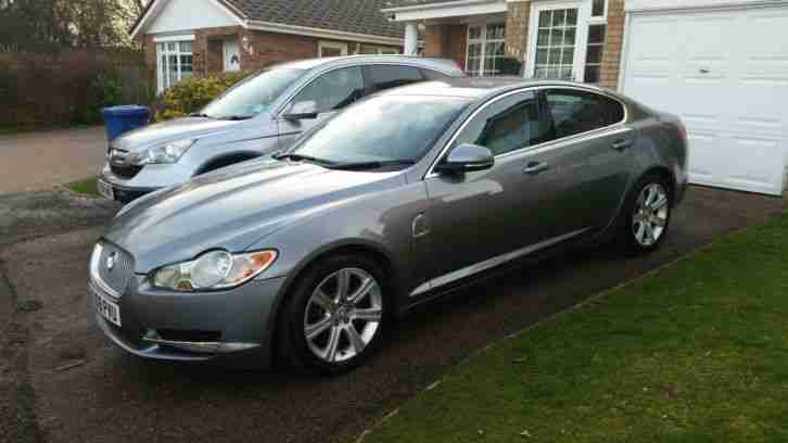 2009 JAGUAR XF DIESEL LUXURY V6 AUTO GREY
