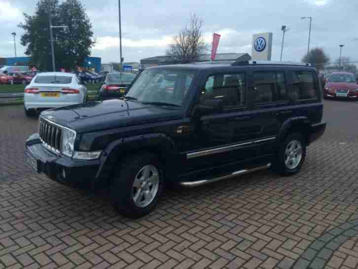 jeep 2009 commander 3 0 crd limited 5dr auto diesel blue. Black Bedroom Furniture Sets. Home Design Ideas
