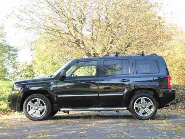 jeep 2009 patriot 2 0 crd turbo diesel limited edition 4wd. Black Bedroom Furniture Sets. Home Design Ideas