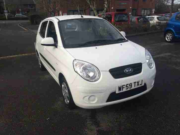 2009 Kia Picanto 1 Petrol White Manual
