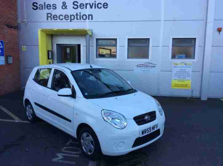 2009 Picanto 1 Petrol white Manual
