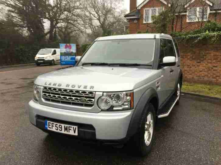 2009 LAND ROVER DISCOVERY 4 TDV6 Commercial