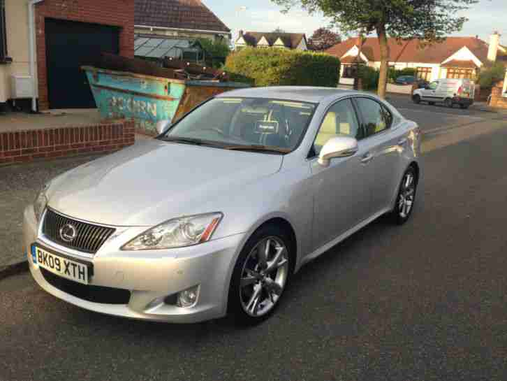 lexus 2009 is 250 se i auto silver only 18 000 miles. Black Bedroom Furniture Sets. Home Design Ideas