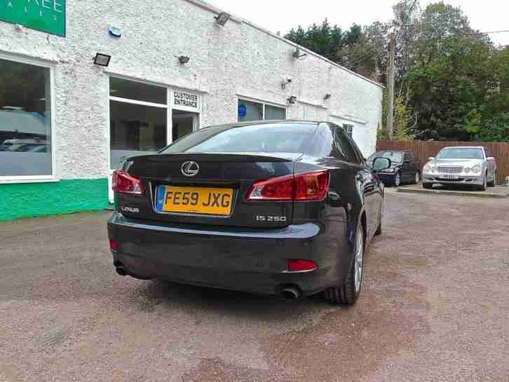 2009 LEXUS IS 250 SE-I AUTOMATIC - SATNAV & REVERSE CAMERA SALOON PETROL