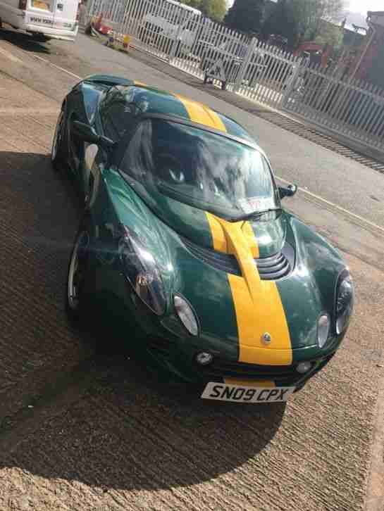 2009 ELISE TYPE 25 GREEN YELLOW 260BHP