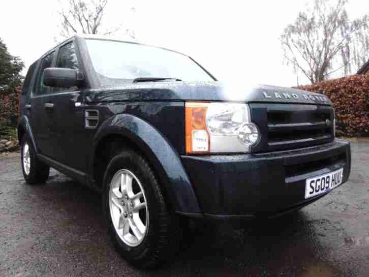 2009 Land Rover Discovery 3 TDV6 GS Diesel