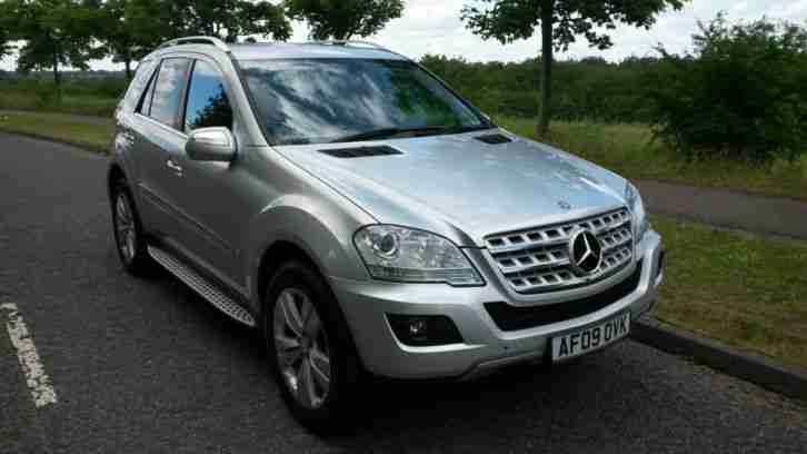 2009 mercedes ml 280 cdi sport auto silver car for sale. Black Bedroom Furniture Sets. Home Design Ideas