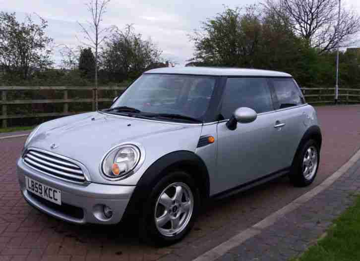 Mini COOPER. Mini car from United Kingdom