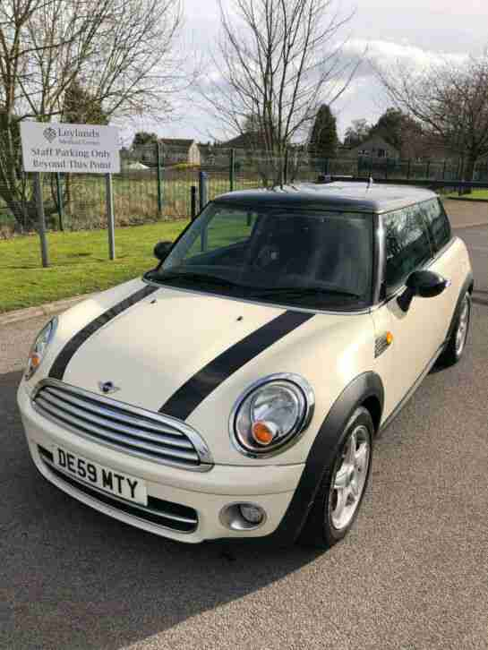 2009 COOPER D 1.6 HATCHBACK 3DR FULL