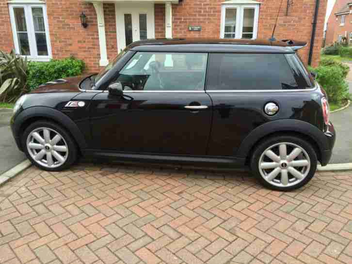 2009 MINI COOPER S BLACK LEATHER INTERIOR 175BHP IMMACULATE CONDITION