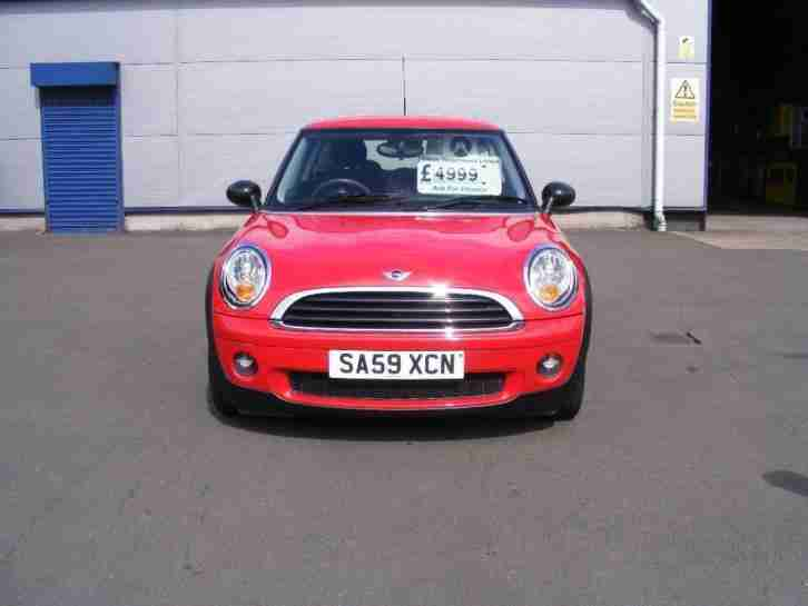 2009 MINI HATCH 1.4 One 3dr