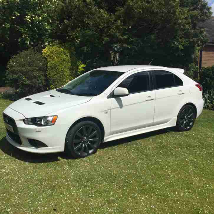 mitsubishi 2009 lancer ralliart gsr s a white car for sale. Black Bedroom Furniture Sets. Home Design Ideas