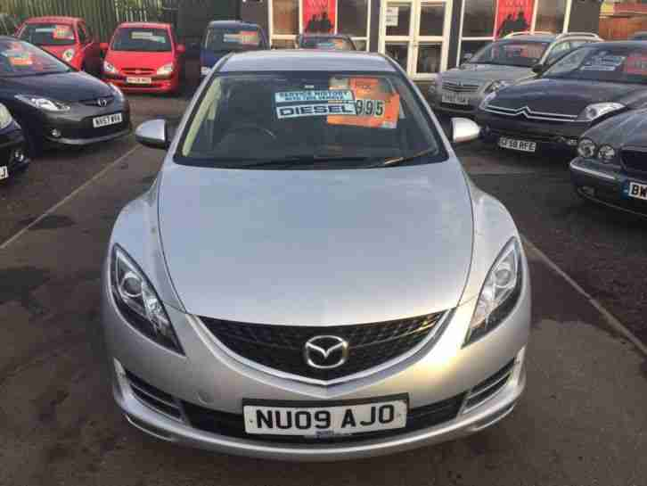 2009 Mazda 6 2.2d TS [125] 5dr FSH 2 KEYS 5 door Hatchback