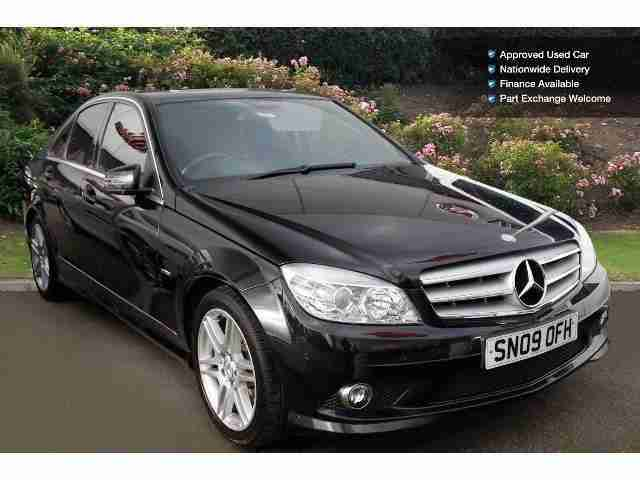 Mercedes benz 2009 c class c180k blueefficiency sport 4dr for Mercedes benz 2009 for sale