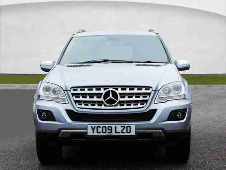 Mercedes benz 2009 m class 3 0 ml280 cdi sport suv 5dr for Mercedes benz suv 2009 price