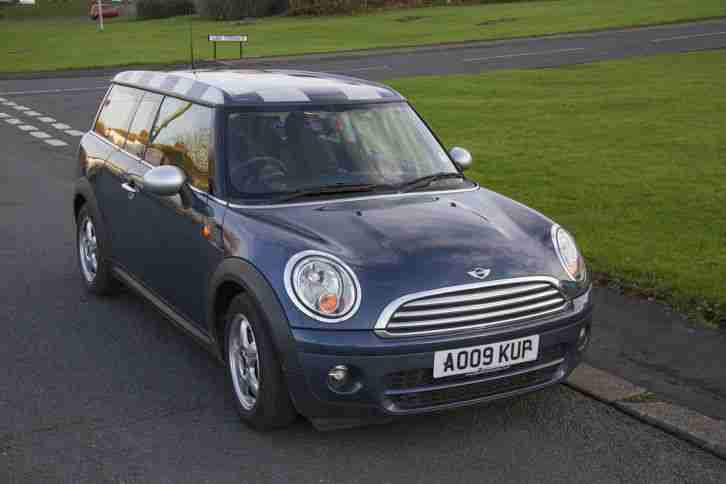 mini 2009 cooper clubman diesel estate car for sale. Black Bedroom Furniture Sets. Home Design Ideas