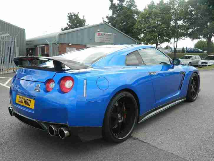 nissan 2009 gt r rare custom spec reduced bayside blue. Black Bedroom Furniture Sets. Home Design Ideas