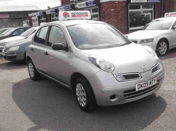 Nissan Micra. Nissan car from United Kingdom
