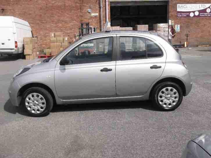 nissan 2009 micra 1 2 16v visia 5dr car for sale. Black Bedroom Furniture Sets. Home Design Ideas