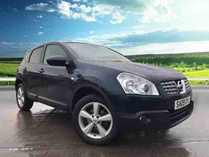2009 Nissan Qashqai 1.6 TEKNA Panoramic Roof, Heated Leather Seats, Alloy Wheel