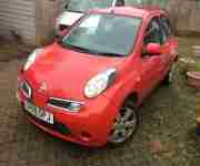 2009 Nissan micra project
