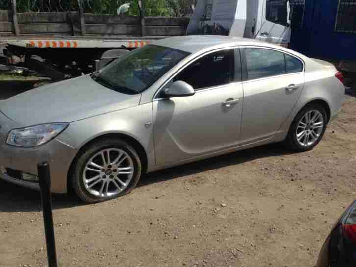 2009 OPEL INSIGNIA SC GOLD SPAIRS OR REPAIRS