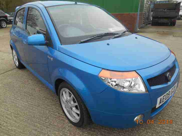 2009 PROTON SAVVY STYLE BLUE,1.2CC,5 DOOR GREAT SPEC,1 YEARS MOT LOW MILES 72000