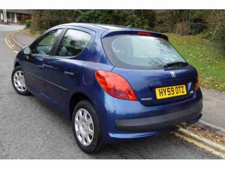 2009 Peugeot 207 1.4 1.4 VTi 95 Active Petrol Manual