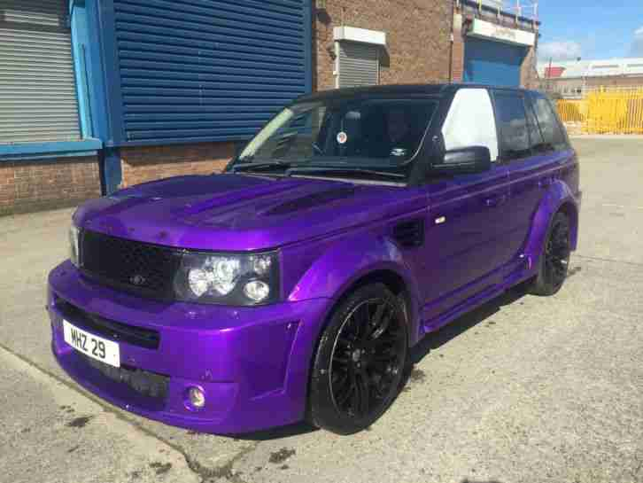 2009 Range Rover Sport Hse Tdv8 Full Onyx Wide Arch 22 S