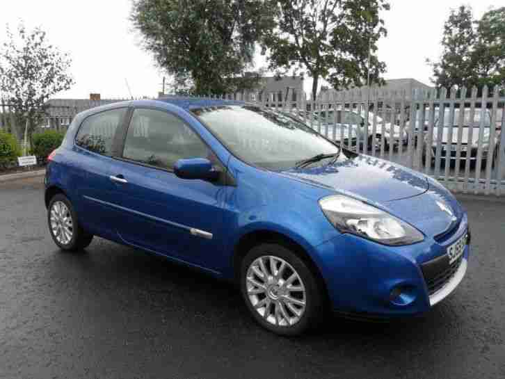 renault 2009 clio 1 2 16v dynamique 3dr car for sale. Black Bedroom Furniture Sets. Home Design Ideas