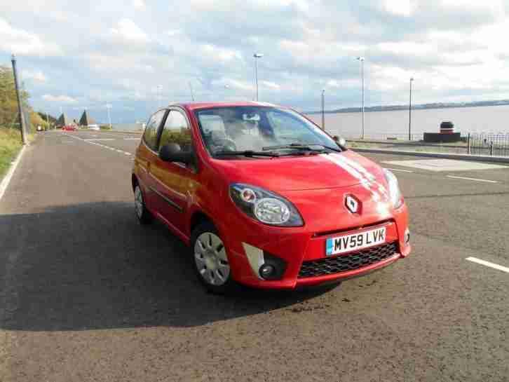 renault 2009 twingo 1 2 extreme 3dr petrol red manual car for sale. Black Bedroom Furniture Sets. Home Design Ideas