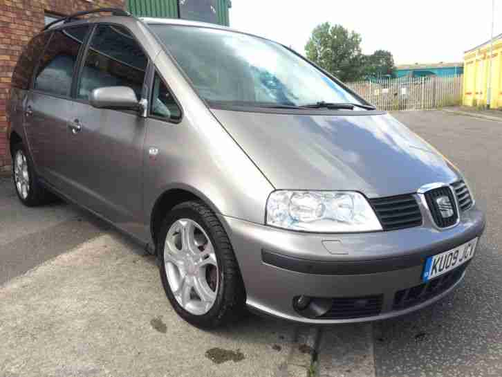 Seat 2009 Alhambra Stylance Tdi Silver Car For Sale