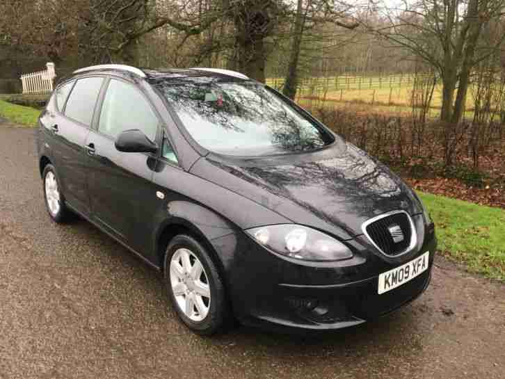 2009 SEAT ALTEA XL 1.9 TDI STYLANCE DIESEL 5 DOOR HATCH BACK 99P NO RESERVE