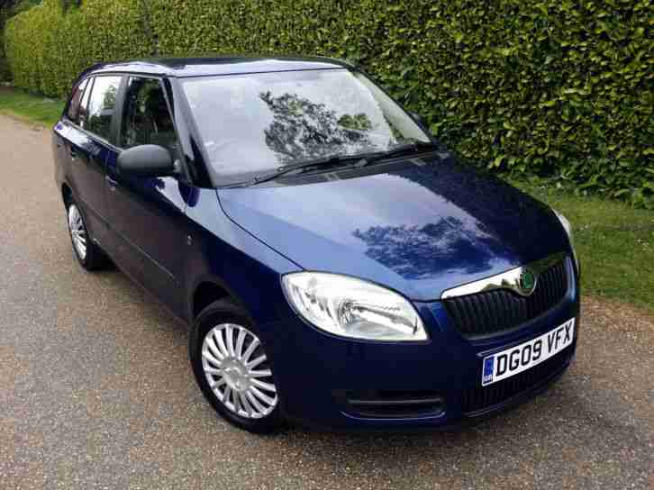 2009 SKODA FABIA 1.4 TDI PD 80PS DIESEL ESTATE MANUAL LOW MILEAGE 12 MONTHS MOT