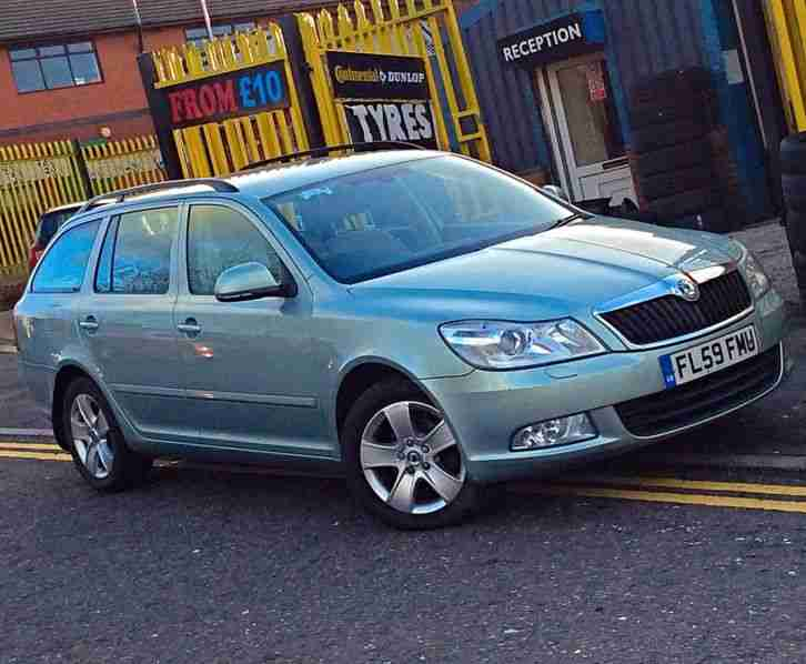 2009 OCTAVIA ELEGANCE ESTATE 1.9 TDI PD
