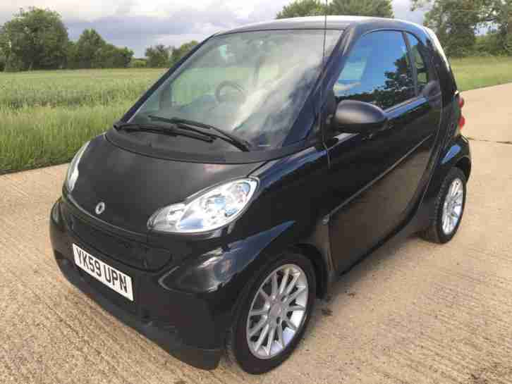 2009 SMART CAR FORTWO PASSION DIESEL 0.8 cdi AUTO AUTOMATIC £0 ANNUAL ROAD TAX!