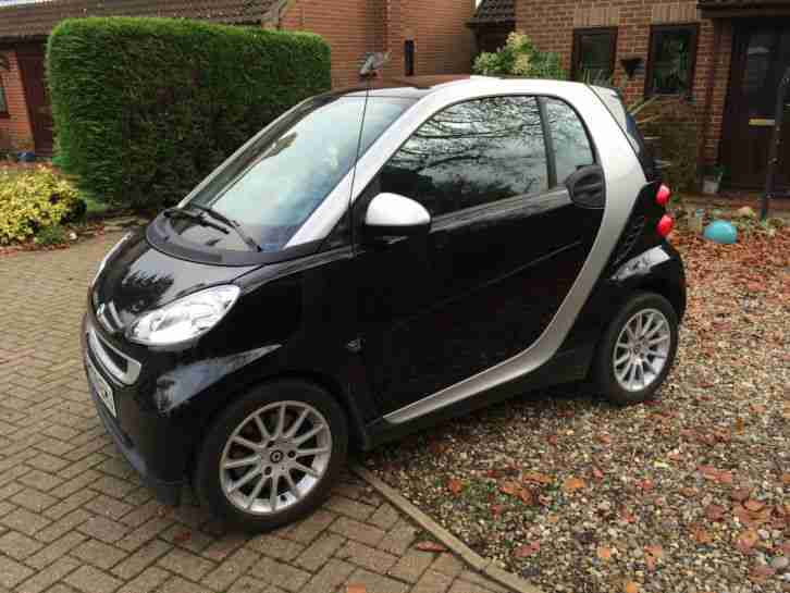 2009 SMART FORTWO PASSION CDI AUTO SILVER DIESEL TAX FREE 88MPG