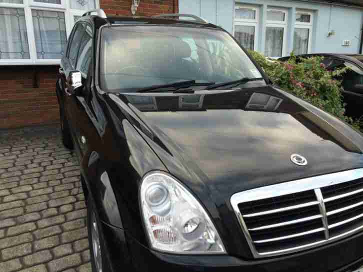2009 SSANGYONG REXTON II 270 S 5S DIESEL BLACK (MERCEDES ENGINE T-TRONIC AUTO)