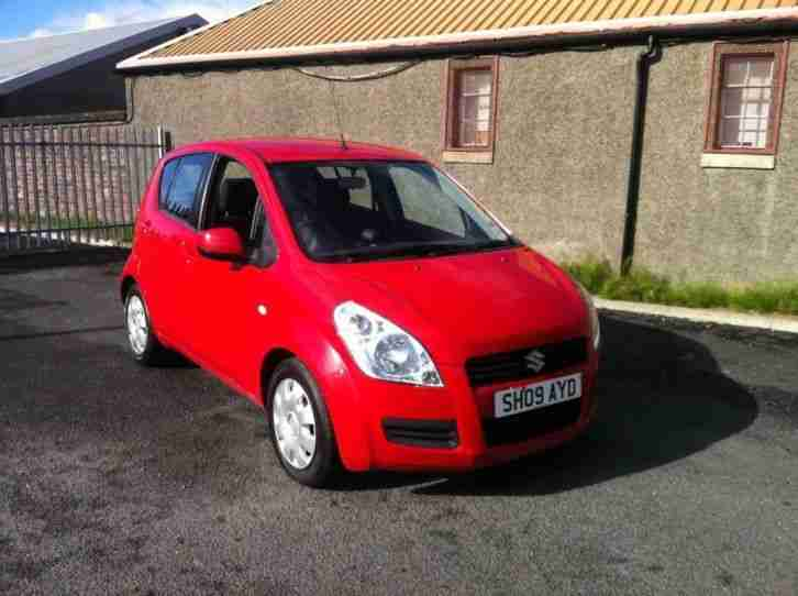 2009 SUZUKI SPLASH GLS RED 1 OWNER CHEAPER PX WELCOME £2495
