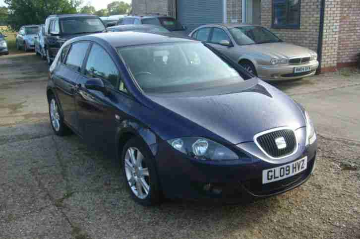 2009 Seat Leon 1.4TSi Stylance One Owner from New May 2018 MOT Good Condition