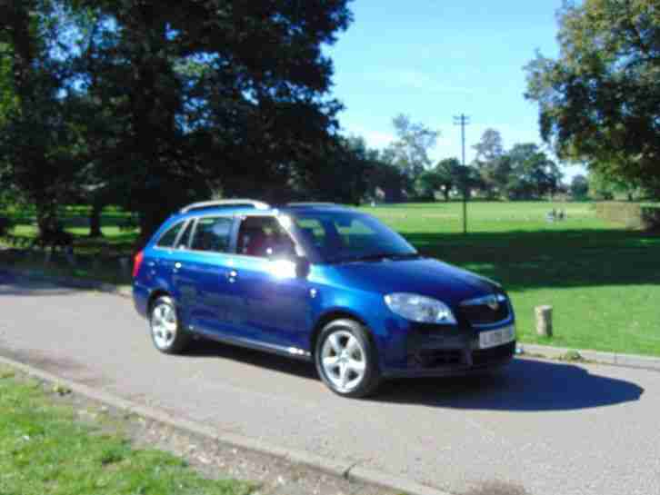 2009 Fabia 1.4 16V 2 5dr 5 door Estate