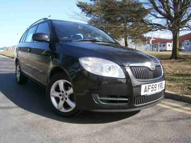 skoda 2009 fabia 1 4 tdi pd 80 2 5dr 5 door estate car for sale. Black Bedroom Furniture Sets. Home Design Ideas
