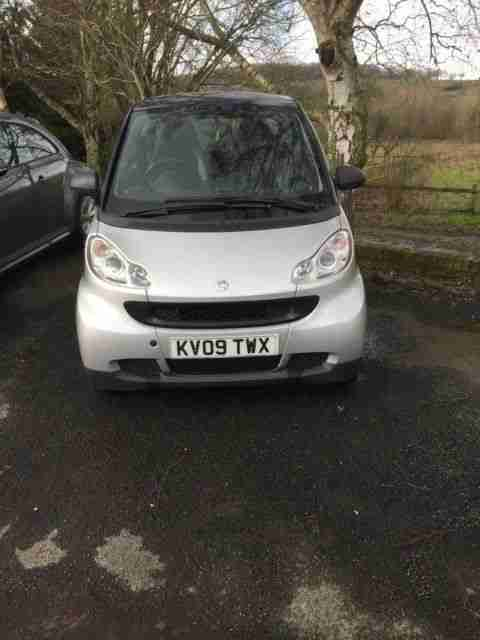 2009 Fortwo Pulse MHD. Low Mileage,