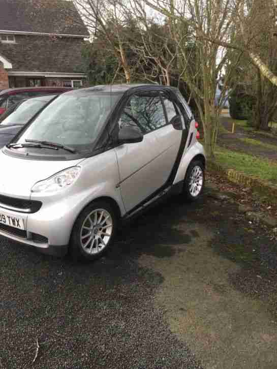 smart 2009 fortwo pulse mhd low mileage full service history car for sale. Black Bedroom Furniture Sets. Home Design Ideas