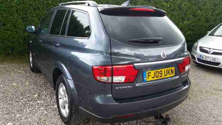 2009 Ssangyong Kyron 2.0TD EX FULL LEATHER NEW SHAPE