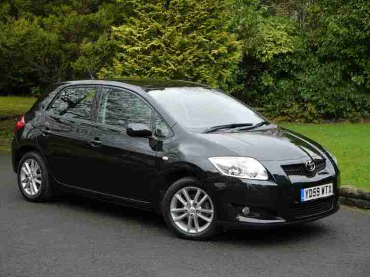 toyota 2009 auris 1 6 v matic tr 5dr 6 car for sale. Black Bedroom Furniture Sets. Home Design Ideas